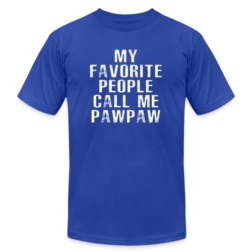 My Favorite People Called me PawPaw - Men's Jersey T-Shirt