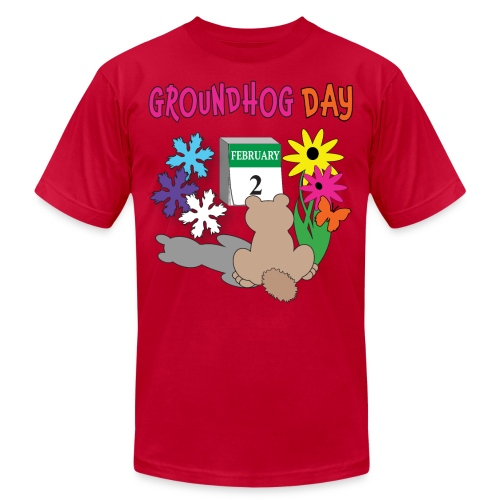 Groundhog Day Dilemma - Men's Jersey T-Shirt
