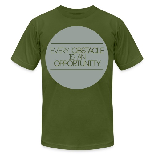obstacleopportunity - Unisex Jersey T-Shirt by Bella + Canvas