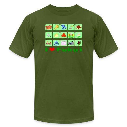 Team Fukui - Unisex Jersey T-Shirt by Bella + Canvas