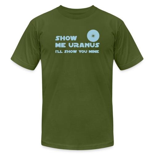 Show Me Uranus - Unisex Jersey T-Shirt by Bella + Canvas