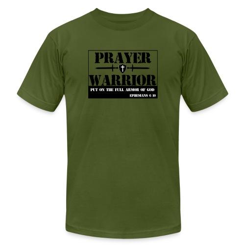 Prayer warrior - Unisex Jersey T-Shirt by Bella + Canvas