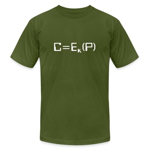 Ciphertext - Unisex Jersey T-Shirt by Bella + Canvas