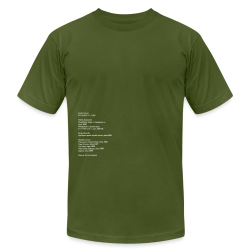 3 - Unisex Jersey T-Shirt by Bella + Canvas