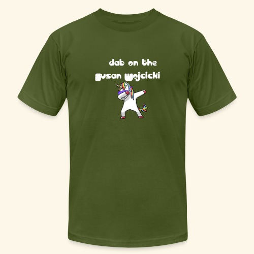 dab on the Susan Wojcicki - Men's  Jersey T-Shirt