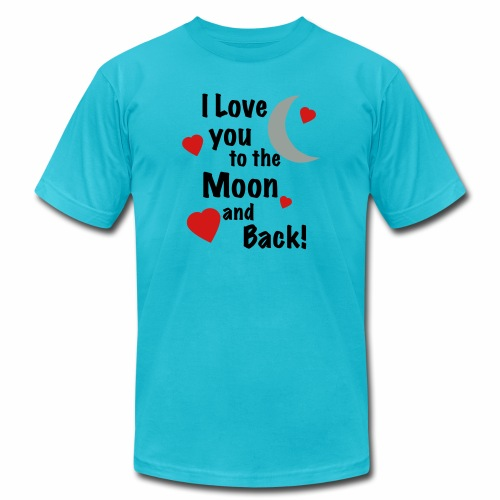 I Love You to the Moon and Back - Men's  Jersey T-Shirt
