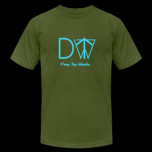 Drop Top Weatha logo Carolina Blue - Men's  Jersey T-Shirt