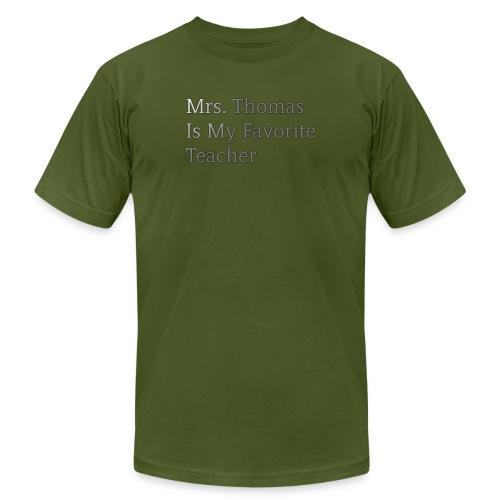 Mrs. Thomas is my favorite teacher - Men's  Jersey T-Shirt