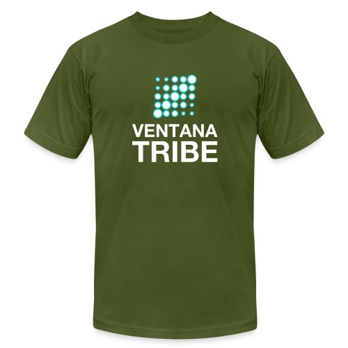Ventana Tribe White Logo - Men's  Jersey T-Shirt