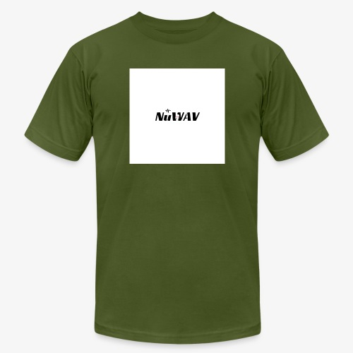 NuWAV Logo - Men's  Jersey T-Shirt