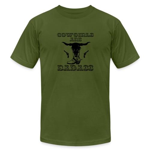 COWGIRLS ARE BADASS - Men's Jersey T-Shirt