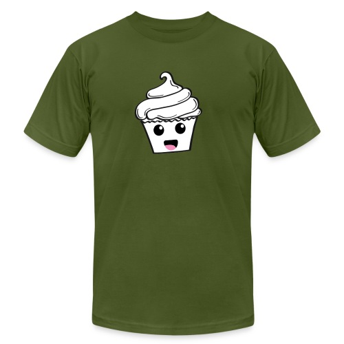 Happy Cupcakes - Men's  Jersey T-Shirt