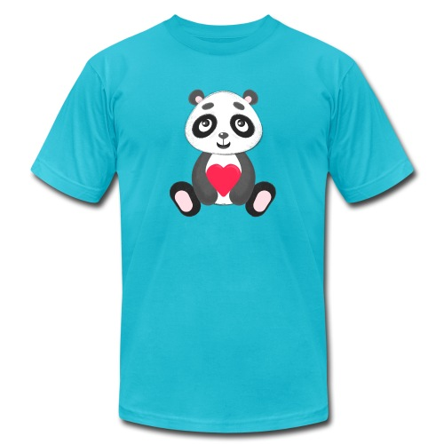 Sweetheart Panda - Men's Jersey T-Shirt