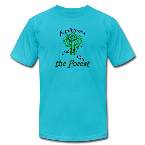 genealogy family tree forest funny birthday gift - Men's  Jersey T-Shirt