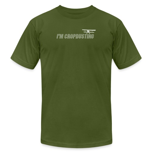 I'm Cropdusting - Men's Jersey T-Shirt