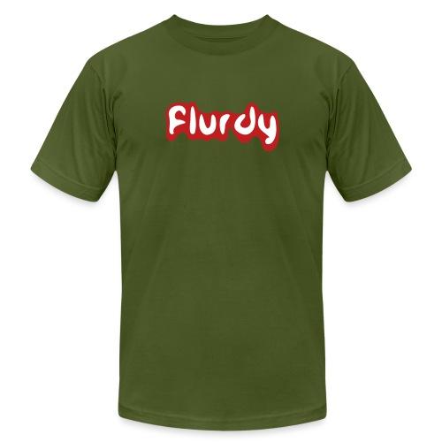 flurdy warped - Men's Jersey T-Shirt