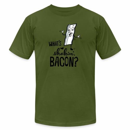What's Shakin' Bacon - Men's  Jersey T-Shirt