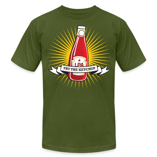 lpaketchupblastbigsize - Unisex Jersey T-Shirt by Bella + Canvas