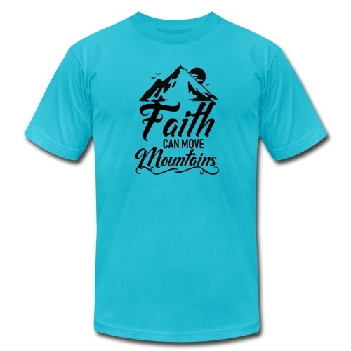 Faith can move mountains - Men's Jersey T-Shirt