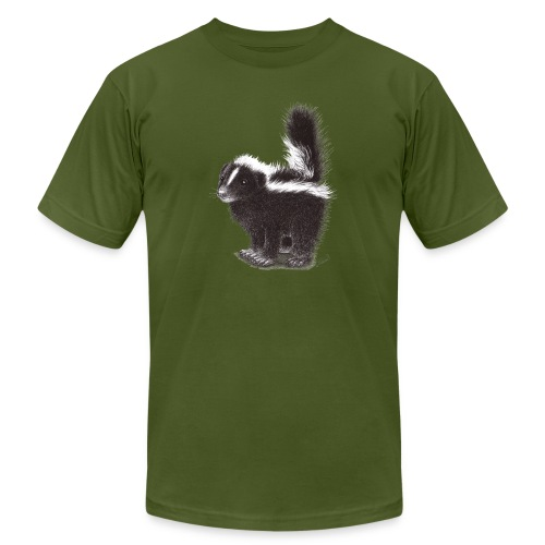 Cool cute funny Skunk - Unisex Jersey T-Shirt by Bella + Canvas