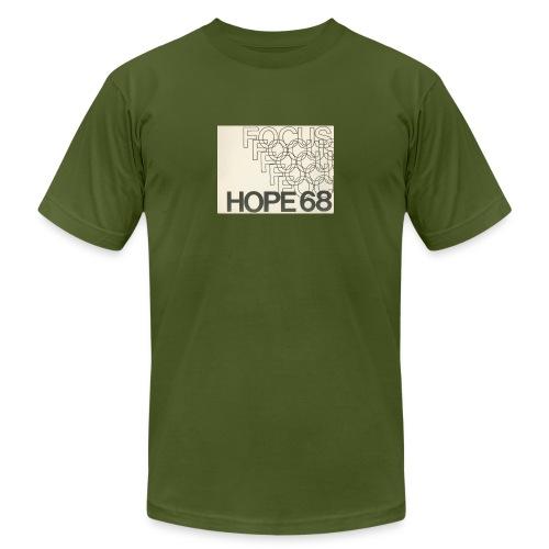 Vintage Focus: HOPE Logo - Unisex Jersey T-Shirt by Bella + Canvas