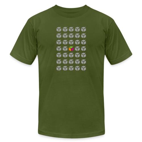 grid semantic web - Unisex Jersey T-Shirt by Bella + Canvas