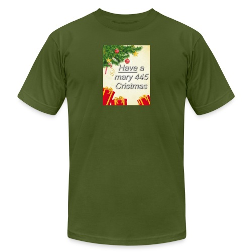 Have a Mary 445 Christmas - Unisex Jersey T-Shirt by Bella + Canvas