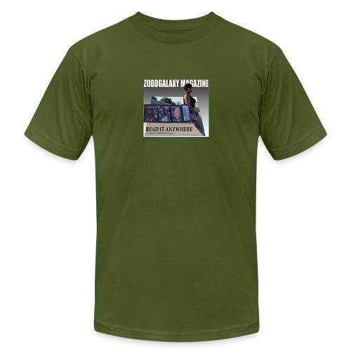 AD MAGAZINE WITH BIG REDD - Men's  Jersey T-Shirt