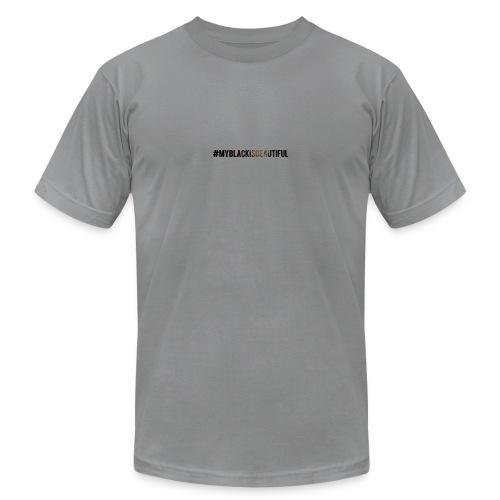 My black is beautiful - Men's  Jersey T-Shirt