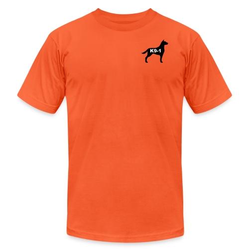 k9-1 Logo Large - Unisex Jersey T-Shirt by Bella + Canvas