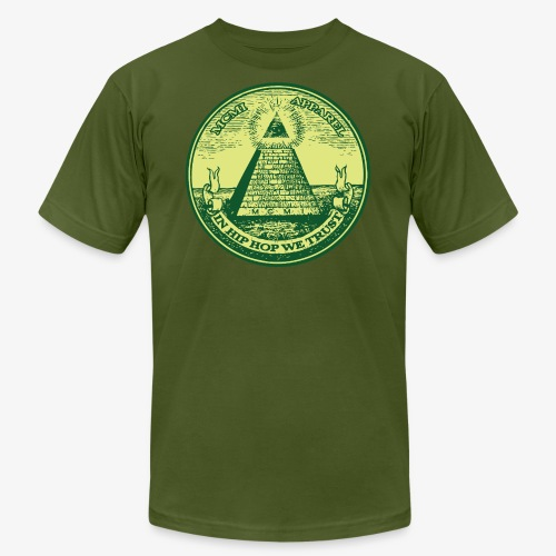 pyramid002 - Unisex Jersey T-Shirt by Bella + Canvas