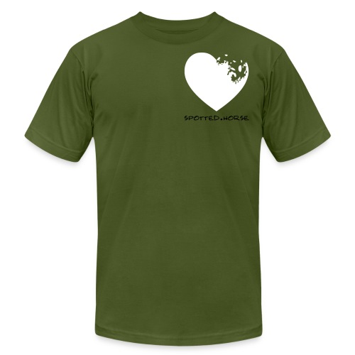 Appaloosa Heart - Unisex Jersey T-Shirt by Bella + Canvas