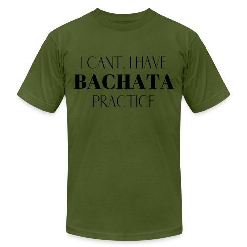 I CANT BACHATA - Unisex Jersey T-Shirt by Bella + Canvas