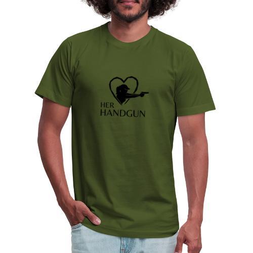 Official HerHandgun Logo - Unisex Jersey T-Shirt by Bella + Canvas