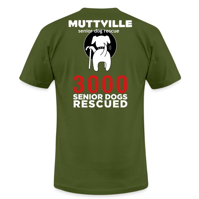 Muttville 3000 back wht