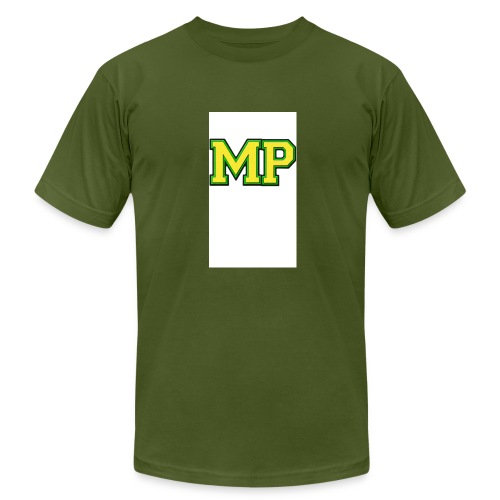 Mp Matthew playz logo long sleeve - Men's Fine Jersey T-Shirt