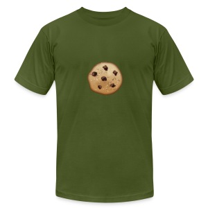 Chocolate Chip - Men's T-Shirt by American Apparel