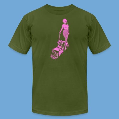 Roto-Hoe pink. - Men's Fine Jersey T-Shirt