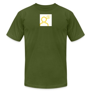 money on my mind - Men's Fine Jersey T-Shirt