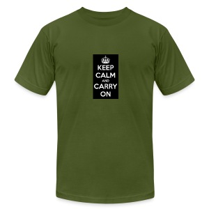 KEEP CALM AND SUB TO DIAMOND - Men's T-Shirt by American Apparel