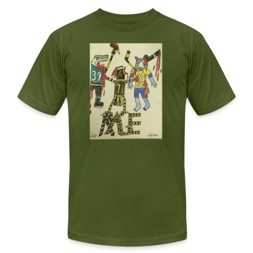 A pens two back to back on the attack - Men's Fine Jersey T-Shirt