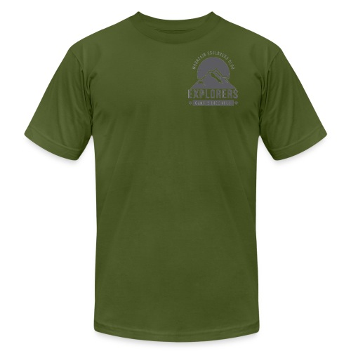 explorer - Men's Fine Jersey T-Shirt