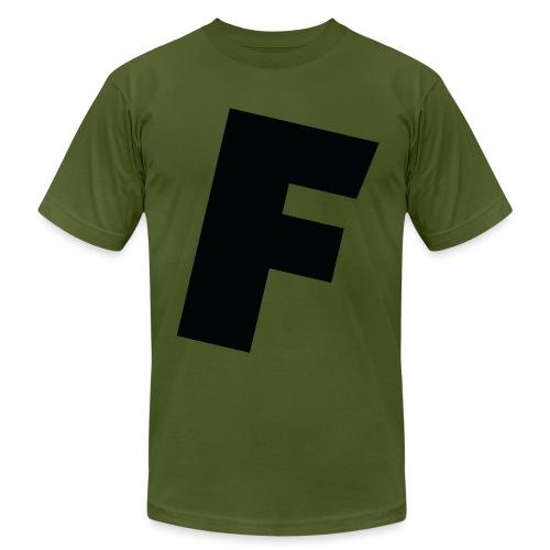 F slanted - Men's Fine Jersey T-Shirt