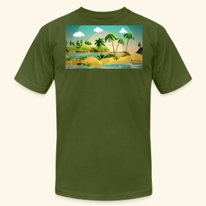 3d nature t-shirt - Men's Fine Jersey T-Shirt