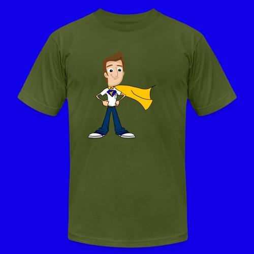 FusionPC Superhero - Men's Fine Jersey T-Shirt