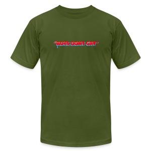 BOYS DON'T CRY  - Men's Fine Jersey T-Shirt