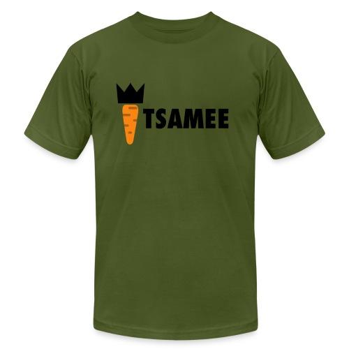 ITSAMEE LOGO BLACK - Men's Fine Jersey T-Shirt