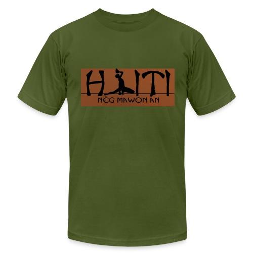 Neg Mawon an Haiti - Men's Fine Jersey T-Shirt