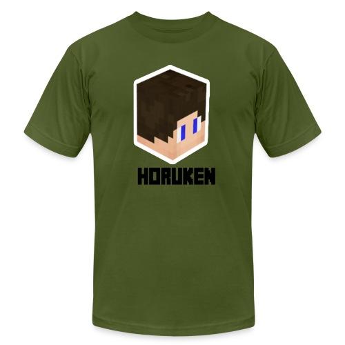 yellow horuken logo design - Men's  Jersey T-Shirt