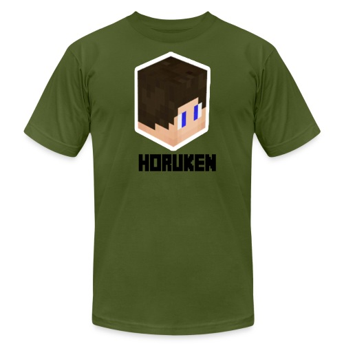 yellow horuken logo design - Men's Fine Jersey T-Shirt